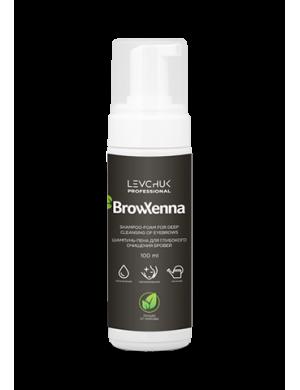Шампунь-пена для глубокого очищения бровей, 100 мл, BrowXenna®
