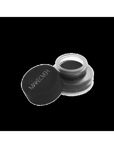 Подводка для глаз гелевая (Black Ink), EL02C01, Makeover