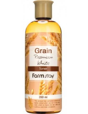 Тонер с экстрактом ростков пшеницы, 350 мл, FarmStay
