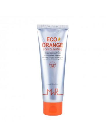 Пенка очищающая с экстрактом апельсина ECO Orange Foam Cleansing, 120 мл, MWR