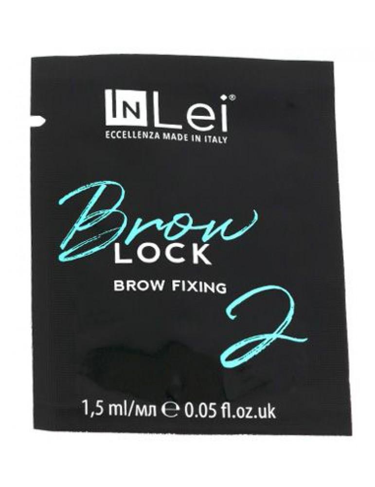 "Фиксирующий состав для бровей ""Brow Lock 2"", 1,5 мл, INLEI"