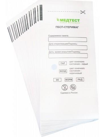 Крафт-пакет бумажный самоклеющийся 75*150 (белый, влагопроч.), 1 шт