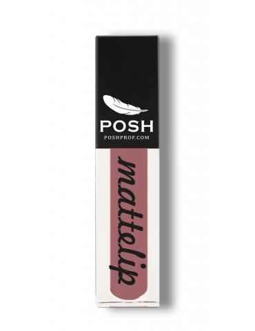 Помада кремовая жидкая, 01 натуральные губы, POSH
