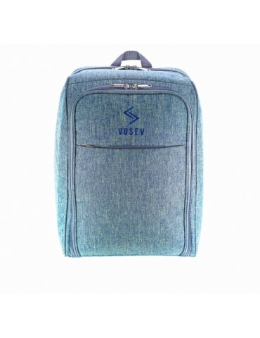 Рюкзак визажиста, джинс, VOSEV